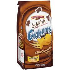 Goldfish chocolate grahams