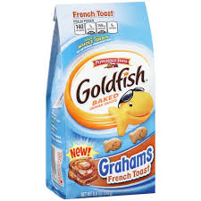 Goldfish french toast grahams