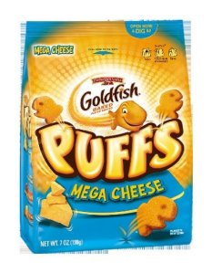 goldfish puffs mega cheese
