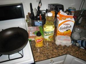Goldfish chicken tenders ingredients