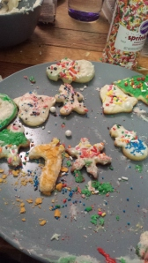 Goldfish Christmas Cookie