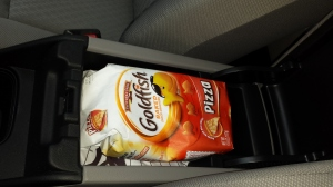 Goldfish compartment open