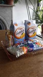 Goldfish Krispie Treats Ingredients
